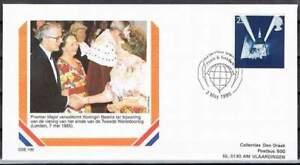 Envelop Royalty OSE-190 - 1995 Beatrix bezoekt Londen