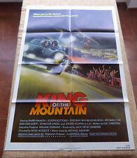 King of the Mountain Movie Poster, Original, Folded, One Sheet, year 1981, U.S.A