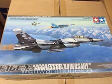 Tamiya Aircraft Model 1/48 Airplane F-16C/N AGGRESSOR ADVERSARY Hobby 61106