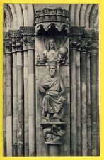 cpa dos 1900 STRASBOURG (Bas Rhin) Cathédrale Sculpture du ROI d'ISRAEL SALOMON