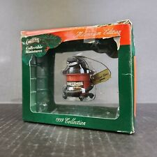 1999 Craftsman Collectible Miniatures Wet / Dry Vac Christmas Ornament Shop Vac