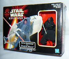 Hasbro Star Wars Episode 1 Sith Speeder And Darth Maul Mini Action Figure