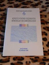 aspects psycho-sociaux du benevolat en cancerologie - 1995