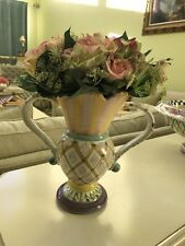 Mackenzie Childs RARE And Discontinued Vase **LOOK!**