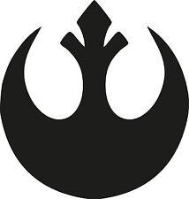 Retro Star Wars Rebel Alliance Symbol Logo Decal Vinyl Sticker Walls vehicles