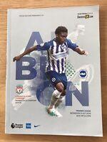Brighton v Liverpool Premier league 2019/20 Programme Mint Condition.