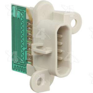 HVAC Blower Motor Resistor-Resistor Block Rear 4 Seasons 20064