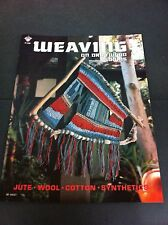 70's Vintage Weaving On Drift Wood Looms Instruction Pattern Craft Booklet