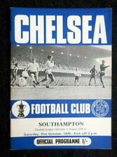 Chelsea v Southampton  31-10-1970