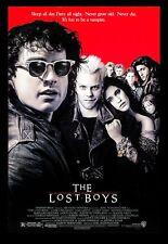 THE LOST BOYS ✯ CineMasterpieces ORIGINAL MOVIE POSTER NM-M ROLLED 1987 VAMPIRE