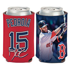 Boston Red Sox Can Cooler 12 oz. Dustin Pedroia Koozie