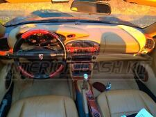 PORSCHE 911 996 CARERRA COUPE INTERIOR BURL WOOD DASH TRIM KIT SET 99 2000 2001