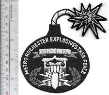 ATF New York  Metro Rochester Explosives Task Force ATF MCSO FBI RPD grey