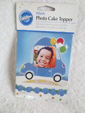 Wilton Wheels Top Photo Cake Decorating Topper New 213-1601