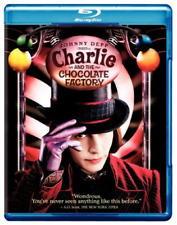 Charlie and The Chocolate Factory 0883929189731 With Johnny Depp Blu-ray
