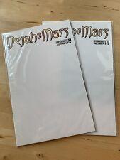 DEJAH of MARS #1 dynamite authentix Blank Comic Book Variant MINT dejah Thoris