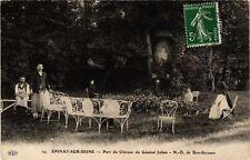 CPA  Épinay-sur-Seine - Parc du Cháteau du GénéralJulien - N.-D. de ..  (740407)