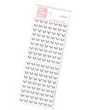 1 x sheet Kawaii Panda stickers scrapbook DIY Cute Mini  #18