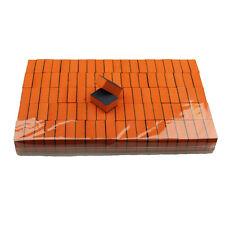 100Pcs 2 sided 120/120 Grit Sanding Nail Disposable Mini Small Buffer Blocks USA
