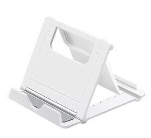Soporte Universal Movil Tablet Mesa Ajustable Color Blanco Envio Desde Espańa