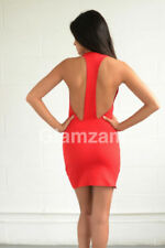 Clubwear Women's Scoop Neck Short Sleeve Dresses