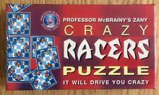 Professor McBrainy's Zany Crazy Racers Puzzle (1998) Complete