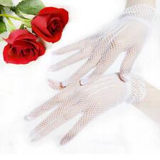 Brand New Fishnet Mesh Women Gloves Summer UV Protection Lace Wedding Gloves