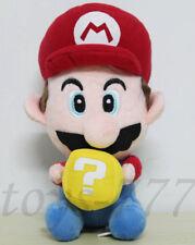 "Super Mario take Mystery Hatena Block Brick 8"" Stuffed Animal Nintendo Plush Toy"