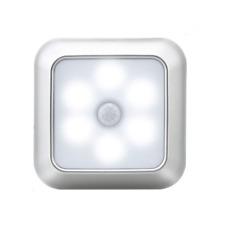 Motion Sensor LED Night Light Battery Powered Smart Bedside Lamp Room cupboard