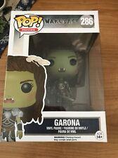 "Funko POP Movie Warcraft Garona Action Figure vinyl display Collect 3 3/4"" tall"