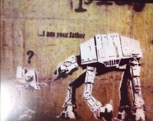 Banksy Fine Art Print NY Publisher 16x20 .... FABULOUS LARGE  Graffiti Piece