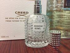 Creed Aventus Men Cologne 100% Authentic EDP 50ml 1.7oz sample Bottle Fast 16L01