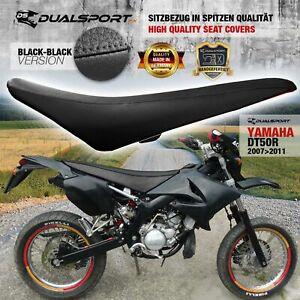YAMAHA DT 50 R Sitzbezug, Seat Cover, Coprisedile BLACK für DT50R by DualSport