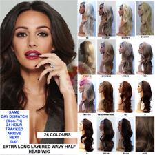 Chute de cheveux/demi-perruque sans marque pour femme