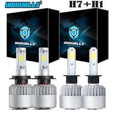 H1+H7 Combo 2600W LED Headlight Bulb Kit Hi-Lo Beam for Hyundai Sonata Elantra