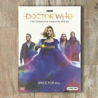 Doctor Who Season 12 (DVD, 2020, 4-Disc Set) Fast Shipping US Seller