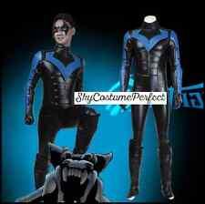 SALE FREE SHIP Arkham City Nightwing BATMAN DC Comic Costume Cosplay PERFECT