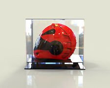 Motorcycle Motorbike Bike Helmet Perspex Acrylic Deluxe Display Case Sale Item!!