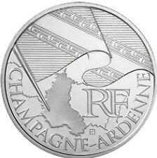 10 euros régions (argent) Champagne Ardenne  2010