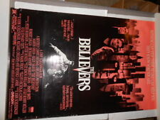 THE BELIEVERS ORIGINAL MOVIE POSTER,MARTIN SHEEN,HELEN SHAVER