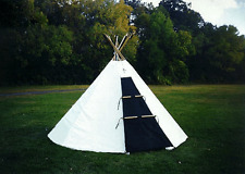 Sami Lavvu - 10 ft/3.3m Sunforger: fire, water & mildew resist (tipi/tepee/yurt)