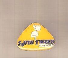 LAWN BOWLING CLUB BADGE - SOUTH TWEED