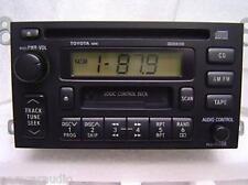 TOYOTA Avalon Camry Solara AM FM Radio Stereo Tape CD Player 16810 Factory OEM