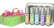 Roll On Gift Set Ladies Perfume Health Set Vegan Gift Essential Oils Rollerball