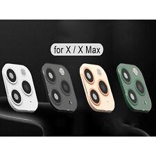 1*Fake Lens Kamera Aufkleber für iPhone X /XS/XMAX Wechseln Sie zu iPhone 11 Pro