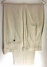 TOMMY BAHAMA CLASSIC RELAX IMPORTED LIGHT CREAM BEIGE CASUAL DRESS PANTS (38X36)