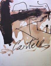 Antoni Tapies - Litografia - Avant la lettre - 1983 - 100 ex. - 50x65 cm