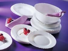 Dajar 00119 Dinner Service 19-piece Luminarc Cadix White