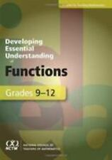 Developing Essential Understanding of Functions for Teaching Mathematics in Grad