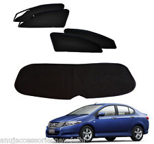 Zipper Magnetic SunShades with Dicky Honda City Old Ivtec 5 Pcs (2008-2014)